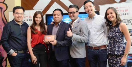 Telpad Team and Mika Lagdameo